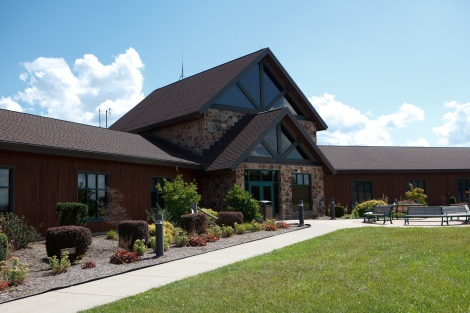 Raystown Lake Region Visitors Center, Hesston, PA (Photo by Abram Eric Landes, aelandesphotography.com)