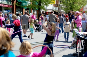 Back to the 50's Hula Hoop Contest at Mayfest of Huntingdon photo by Ed Stoddard