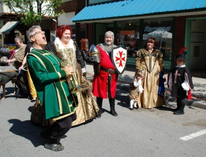 Renaissance Block at Mayfest of Huntingdon photo by Ed Stoddard