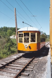 Rockhill Trolley Museum photo by David Schwartz