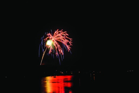 Fireworks over Raystown Lake by Kevin Mills