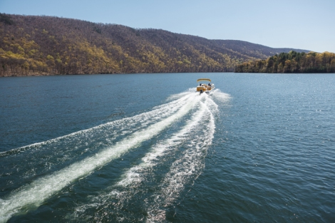 "Raystown Lake is often called ""8,300 acres of fun"" -- there is a lot of water to enjoy! Photo by A.E. Landes Photography www.aelandesphotography.com"