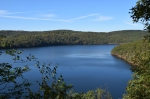 The view from an overlook on Terrace Mountain Trail. Photo by Ed Stoddard, Raystown.org