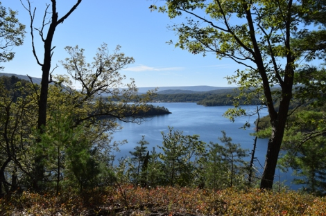 The view from the Terrace Mountain Trail at Raystown Lake. Photo by Ed Stoddard, Raystown.org